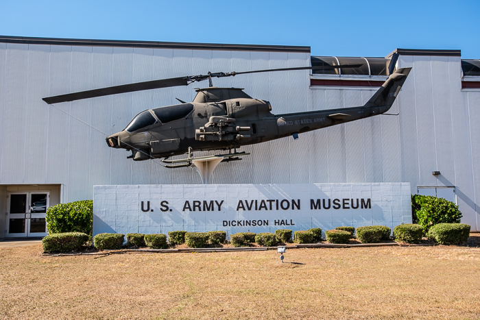 Fort Rucker's U.S. Army Aviation Museum<br />(Click on this image to view photos from the museum.)